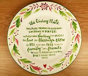 Crystal Lake The Giving Plate