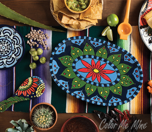 Crystal Lake Talavera Tableware