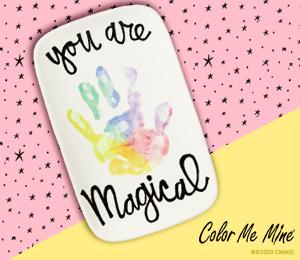 Crystal Lake Rainbow Handprint