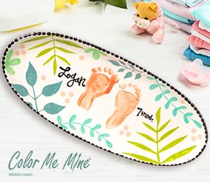Crystal Lake Tropical Baby Tray