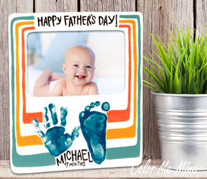 Crystal Lake Father's Day Frame