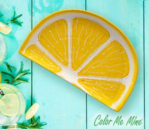Crystal Lake Lemon Wedge