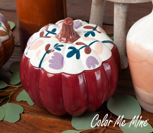 Crystal Lake Fall Pumpkin Box