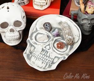 Crystal Lake Vintage Skull Plate