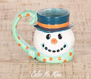 Crystal Lake Snowman Mug