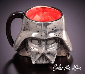 Crystal Lake Darth Vader Mug