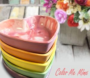 Crystal Lake Candy Heart Bowls