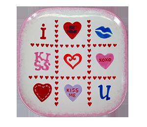 Crystal Lake Valentine's Tic Tac Toe