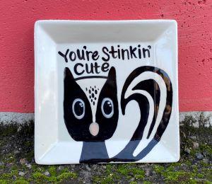 Crystal Lake Skunk Plate