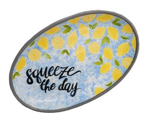 Crystal Lake Lemon Platter